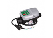 Пресс-контроль Italtecnica BRIOH05G-MT64 с таймером автоматического перезапуска. 220В, 12А. с манометром и кабелем (BRIO-MGTH05)