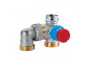 Термостатический клапан  Giacomini для теплого пола и коробки R508M
