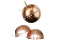 Поплавок шаровой FARG (медный) D120mm с пазом и винтом для крепления (для FARG мод. 511, 519, 523, 524,525), Tmax-80C
