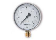 Манометр радиальный WATTS MDR100/16 0-16 бар RAD 1/2 (F+R250)