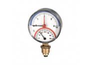 Термоманометр радиальный WATTS TMRA 10  0-10 бар/0+120*C RAD G 1/2