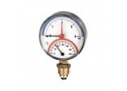 Термоманометр радиальный WATTS TMRA 6 0-6 бар/0+120*C  AD G 1/2