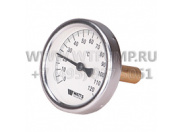 Термометр биметаллический WATTS T 63/75 0+120*С (F+R801)