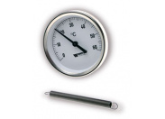 Термометр б/м WATTS накладной TAB 63/120 0+120*С (F+R810)