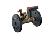 Клапан балансировочный Broen статический Ballorex Venturi FODRV Ду50 Pу16 с дренажом Kvs=36,0м3/ч Т=(-20...+150)С Ф/Ф