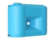 Бак для воды Combi W-1100 BW (сине-белый) с поплавком тм Акватек