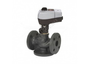 Комплект: клапан Danfoss VF3 Ду 32 Kvs 16 + привод с трёхпозиционным управлением AMV 435 230 В