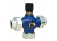 Клапан регулирующий Broen M3F-SFL Ду 25 р/р трехходовой чугунный Pу 16 Tmax=150 C Kv 10