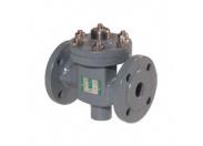 Клапан регулирующий Broen Clorius M1F-FD-040 двухходовой чугунный ф/ф Ду 40 Ру 25 Tmax=150oC Kvs=25 м3/ч
