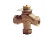Клапан регулирующий Broen L3S-020 p/p Kv=5,0/4,3 трехходовой латунный Pу10 Tmax 120 C