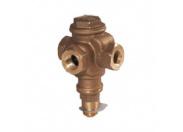 Клапан регулирующий Broen L3S-050 p/p Kv=30/25,8 трехходовой латунный Pу10 Tmax 120 C