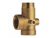 Адаптер 5-ти выводной Speroni Ду25 L=80 мм латунный (BD5111)