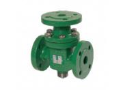 Клапан регулирующий Broen H3F-032 ф/ф Kv=12.5 трехходовой углеродистая сталь Pу40 Tmax 350 C