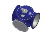 Клапан регулирующий Broen Clorius G2FM-Т-400 двухходовой ф/ф Ду 400 Ру 10 Tmax=100oC Kv=3050/3950, чугун