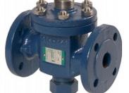 Клапан регулирующий Broen G2F-125 ф/ф Ду 125 Pу 16 Tmax=300oC Kv=215, чугун