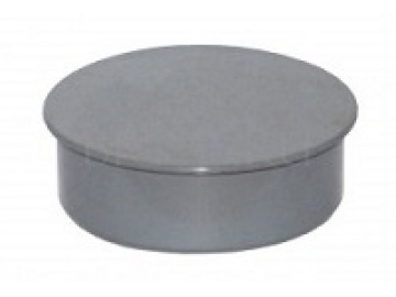 Заглушка серая D 110мм (250) внутренняя канализация Valfex (20108110М-0250)