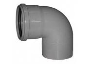 Отвод серый 87 град-110мм (35) внутренняя канализация Valfex (20101110М-0035)