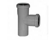 Тройник серый 45 град 50-50 (70) внутренняя канализация Valfex (22050050М-0070)