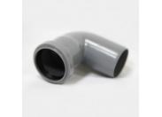 Отвод серый 87 град-50мм (120) внутренняя канализация Valfex (20101050М-0120)