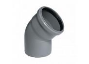 Отвод серый 45 град-50мм (120) внутренняя канализация Valfex (20102050М-0120)