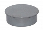 Заглушка серая D 50мм (450) внутренняя канализация Valfex (20108050М-0450)