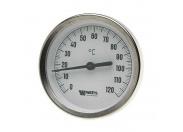 Термометр биметаллический F+R801 80мм с погружной гильзой WATTS Ind 160 град.C гильза 100мм