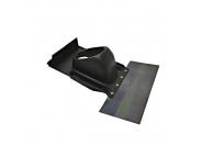 Vaillant  Элемент из пластмассы для пересечения дымоходом/воздуховодом косой крыши, цвет-черный