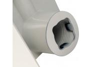 Global STYLE EXTRA 350 Global STYLE EXTRA 350 6 секций радиатор биметаллический боковое подключение (белый RAL 9010)