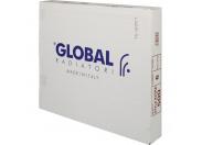 Global STYLE EXTRA 500 Global STYLE EXTRA 500 6 секций радиатор биметаллический боковое подключение (белый RAL 9010)