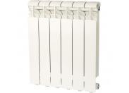 Global ISEO 500 Global ISEO 500 6 секций радиатор алюминиевый боковое подключение (белый RAL 9010)