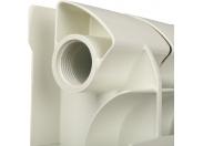 Global STYLE PLUS 350 Global STYLE PLUS 350 8 секций радиатор биметаллический боковое подключение (белый RAL 9010)