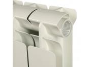 STOUT Bravo 500 12 секций радиатор алюминиевый боковое подключение