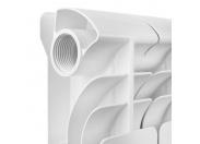 Global ISEO 500 Global ISEO 500 12 секций радиатор алюминиевый боковое подключение (белый RAL 9010)