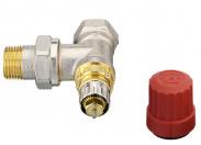 Danfoss  Клапан угловой RA-N для двухтрубной насосной системы отопления Д 15мм
