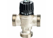 """STOUT  Термостатический смесительный клапан для систем отопления и ГВС 1""""  НР   30-65°С KV 2,3"""