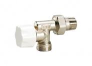 LUXOR Радиаторный вентиль под термостат. головку с защитным колпачком M320/A