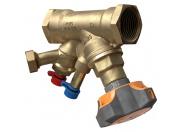 "Балансировочный клапан STAD, c дренажем G 3/4"", DN15, внутренняя резьба, PN25, AMETAL"