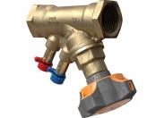 IMI  Клапан балансировочный ручной STAD без дренажа, внутренняя резьба, DN 32, Kvs = 14,2 м3/ч, Tmax = 120°C, PN25, материал корпуса - AMETAL