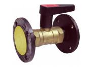 BROEN  БРОЕН Venturi DRV Клапан балансировочный ручной фланцевый DN 040 PN 16 Kvs=23,3 м3/ч,артикул 4750510S-001005 [4750510S-001005]