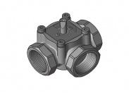 Meibes DN25 трехходовой смесительный клапан, внутренняя резьба.