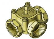 Meibes Вентиль поворотный трехходовой, DN40