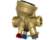 Комбинированный балансировочный клапан  TA-Modulator, -20 – +120°C, наружная резьба,  DN15, AMETAL