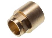 Sanha  4270g переход ВП-ВР, бронза22x1/2, для медных труб под пайку