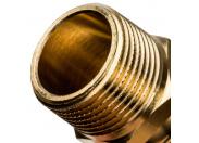"""STOUT  Переходник с наружной резьбой 25xR 3/4"""" для труб из сшитого полиэтилена аксиальный"""