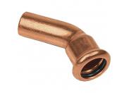 Sanha  6040, отвод 45° ВПр-НПр, 15, для медных труб прессовой