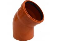 Sinikon  НПВХ Отвод D110 x 45° для нар. канализации