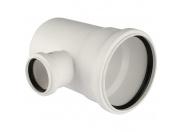 REHAU RAUPIANO PLUS RAUPIANO PLUS Тройник 110/50/87° для канализационных труб