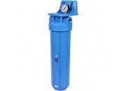 """AquaFilter AQM Фильтр (корпус 20ВВ, вход 1"""", без картриджа)"""