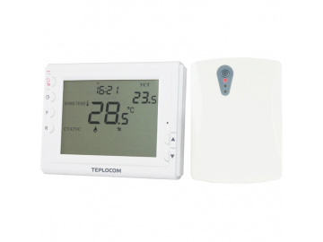 Teplocom  Термостат комнатный Teplocom TS-Prog-2AA/3A-RF