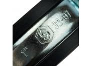 "STOUT  Хомут для труб, комплект: хомут+шпилька шуруп +дюбель пластиковый 1""(32-37)"